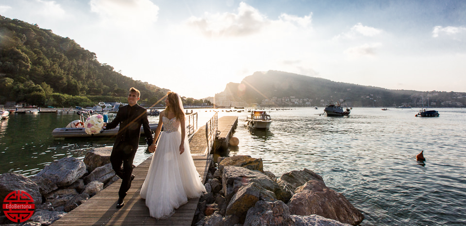 Wedding Reportage isola Palmaria